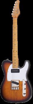SCHECTER E-Gitarre, PT Special, 3-Tone Sunburst Pearl, Ahorn