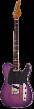 SCHECTER E-Gitarre, PT Special, Purple Burst Pearl, Palisander