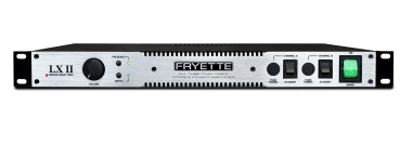 Fryette - LXII Power Amp 2 x 50 Watt - 1 Rack Space