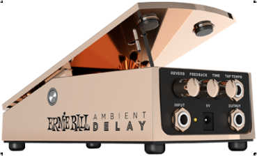 ERNIE BALL Expressionpedal, Ambient Delay, Bronze