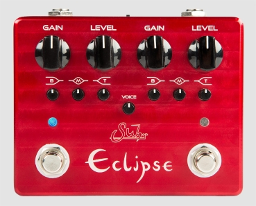 Eclipse™ Dual-Channel Overdrive/Distortion Pedal